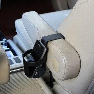 Image 3 - 1 個黒車のカップホルダードリンクボトルホルダースタンド容器フック車のトラックインテリア、窓ダッシュマウント