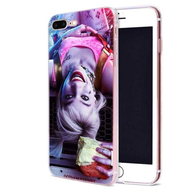 Harley Quinn 2020 Fall für Apple iphone 11 Pro X XS Max XR 7 8 6 6S Plus 7S 5 S SE 5C Weiche TPU Coque Telefon Carcasa Abdeckung