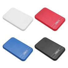 2.5 inch SATA 2 to USB 3.0 HDD SSD Case  6Gbps Support 8TB USB SATA HDD Box External Hard Disk Drive Enclosure