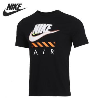 Original New Arrival  NIKE AS M NSW TEE FTWR 2 NIKE AIR Men's T-shirts short sleeve Sportswear