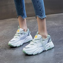 Platform Shoes Tenis-Basket Chunky-Sneakers Mujer Women's Ulzzang Zapatos Casual Hip-Hop