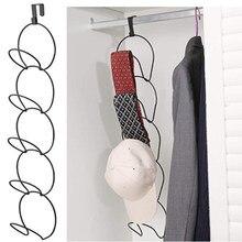 2020 New 5 Pack Baseball Cap Rack Hat Holder Rack Home Organizer Storage Door Closet Hanger Cap Holder Rack