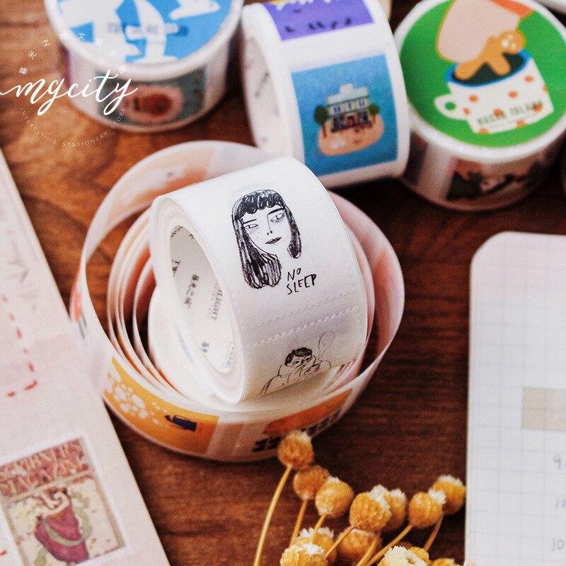 adesiva mini selo adesivo serie washi fita fita adesiva adesivos 02