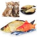 1 шт. Любимая Игрушка Рыба Форма моделирование забавная игрушка для кошек котенок интерактивные игрушки кошка плюшевая кукла-Подушка игруш...