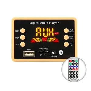 Image 1 - Car Wireless Bluetooth 5.0 MP3 Decoder Board Module 5V 12V USB MP3 Audio Player WMA WAV TF Card Slot/USB/FM Radio Decoding Board