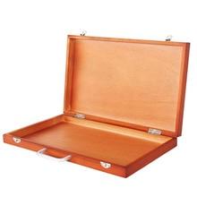 Портативный Большой мольберт для рисования, настольный деревянный мольберт, портативная коробка для рисования, Asccessories, товары для рукоделия для Artis