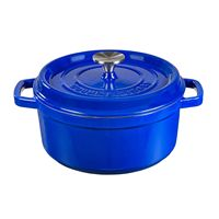 Cast Iron Pot with 24 cm Gourmet Tools vitrified ceramic coating by XSQUO Useful Tech