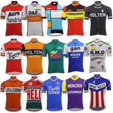 Męska koszulka kolarska z krótkim rękawem ropa Ciclismo odzież rowerowa jersey odzież rowerowa maillot rower do jazdy na świeżym powietrzu ubrania