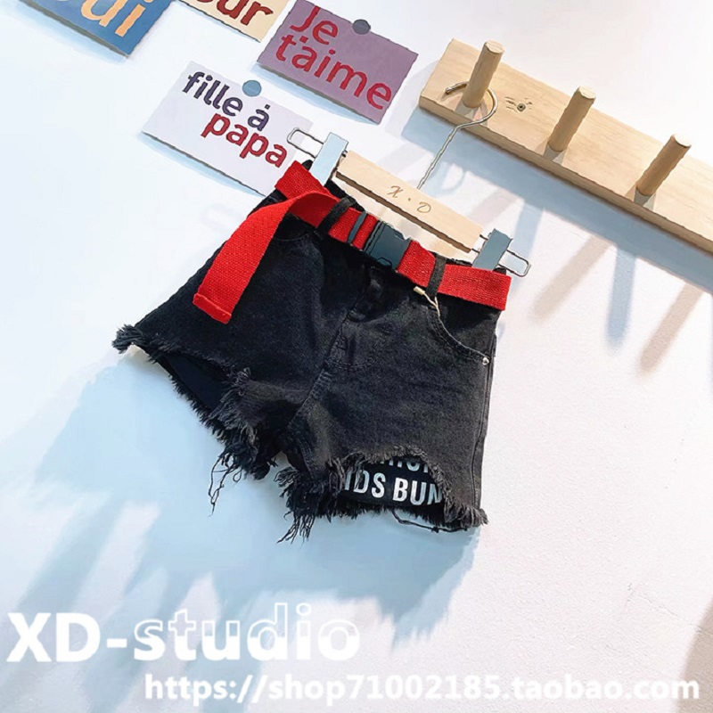 2020 New Kid Summer Jeans Denim Hot Shorts With Waistband 1