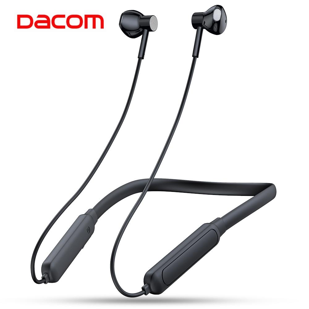 Dacom G03H Sport Neckband Bluetooth Earphone 5.0 Wireless Ear Phones Buds High Quality with Microphone for IPhone Xiaomi Samsung|Phone Earphones & Headphones|   - AliExpress
