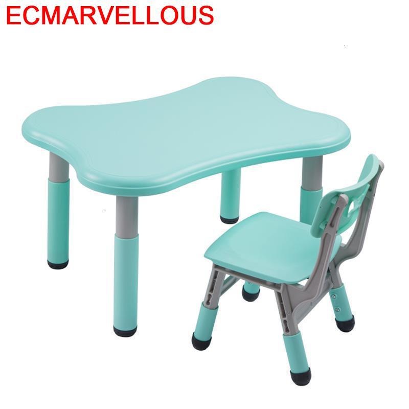 Tavolo Per Bambini Toddler Avec Chaise Desk Pour Kindergarten Study For Kids Mesa Infantil Bureau Enfant Kinder Children Table