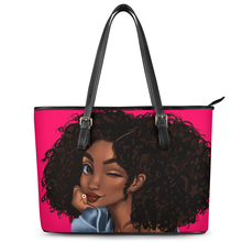 Women Shoulder Bags Black Queen Large Tote Bags African Girls Afro Art Printed Top-handle Bags for Ladies Bolsos Mujer 2020