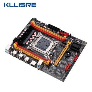 Image 4 - Kllisre X79 ชิปเซ็ตชุดLGA2011 Combos Xeon E5 2620 CPU 2Pcs X 4GB = 8GBหน่วยความจำDDR3 ECC RAM 1333Mhz