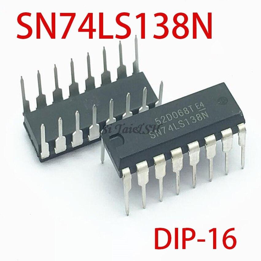 10pcs SN74LS138N DIP-16 74LS138 DIP16 SN74LS138 DIP 74LS138N HD74LS138P