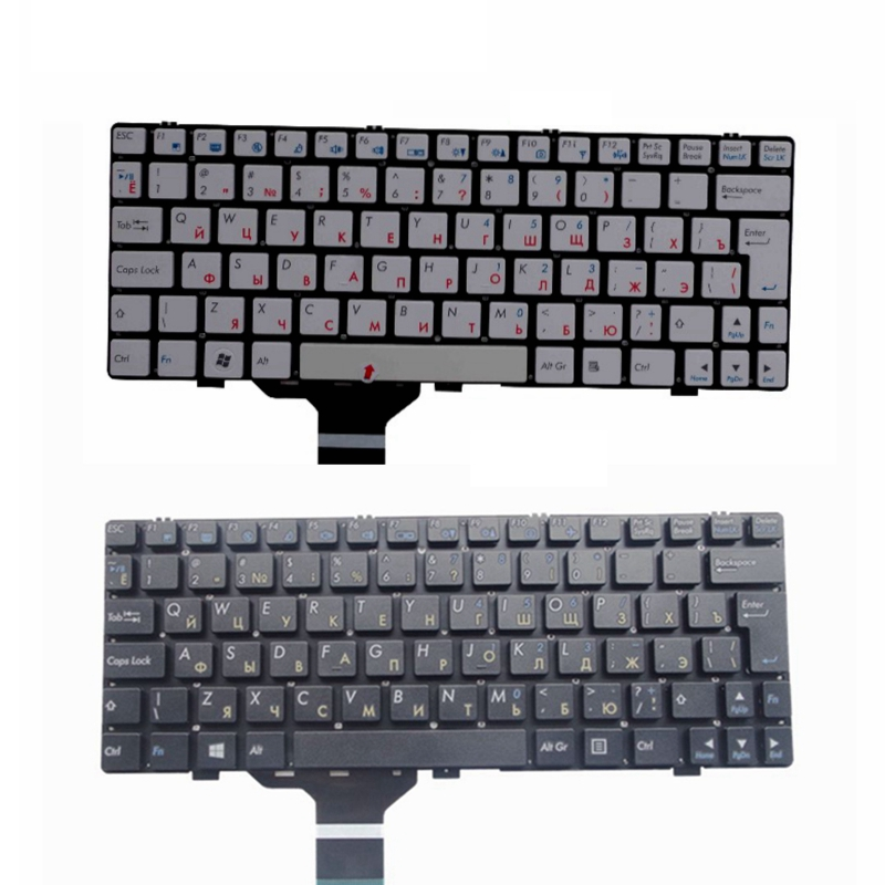 Russian NEW RU laptop keyboard for CLEVO M1110 M11X M1100 M1110Q M1111 <font><b>W110ER</b></font> M1115 replacement image