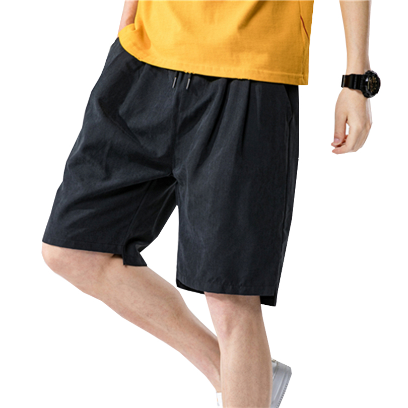 Men's  Beach Shorts Thin Trendy Fashion Multi-color No-iron Loose Sports Pants Summer New Soft Comfortable Casual Shorts Male
