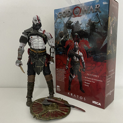 NECA God of War 3 Ghost of Sparta Kratos PVC Action Figure Collectible Model Toys Doll Gift