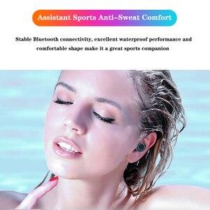 Image 5 - M11 TWS Auricolare Bluetooth V5.0 Touch Control Sport Cuffie Senza Fili Auricolare con Microfono 3300mAh Accumulatori E Caricabatterie Di Riserva Per Il telefono