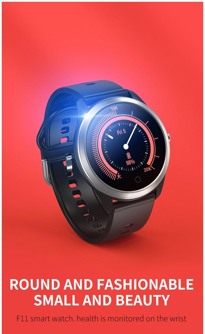 Smart watch sports waterproof F11 ECG + PPG