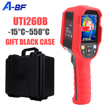 A-BF UNI-T UTi260B RX-600 Infrared Thermal Imager Digital Thermal Imaging Camera Real Time Live Infrared Thermometer -15~550°C