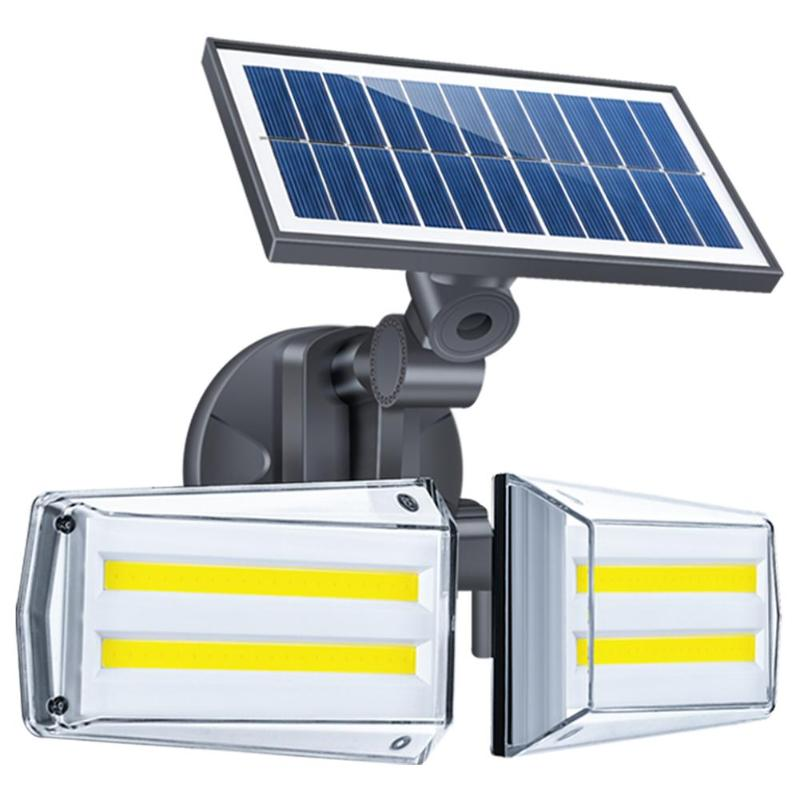 42/80LED 20W Outdoor Solar Lights Waterproof Infrared Garden Light PIR Motion Sensor Wall Light Solar Lamp