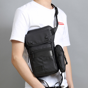 Bolsa cartuchera de cintura para hombre, riñonera, bolsas de mensajero para motocicleta, para viaje, táctica, Militar