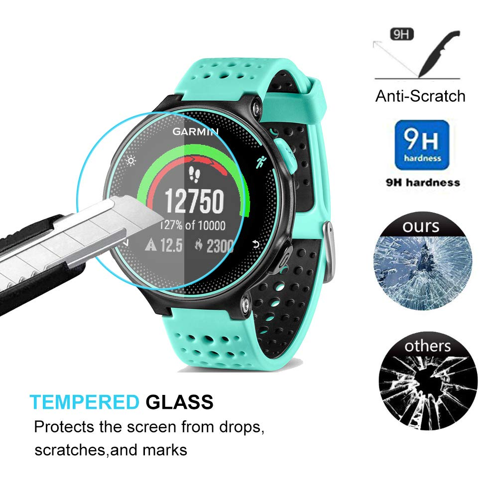 Tempered Glass Protective Film For Garmin Forerunner 220 225 230 235 245 620 630 645 735XT 935 945 Smart Watch Screen Protector
