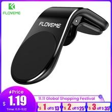 Floveme磁気自動車電話ホルダー車のl型空気ベンマグネット携帯ホルダーiphone × 11サムスンS9