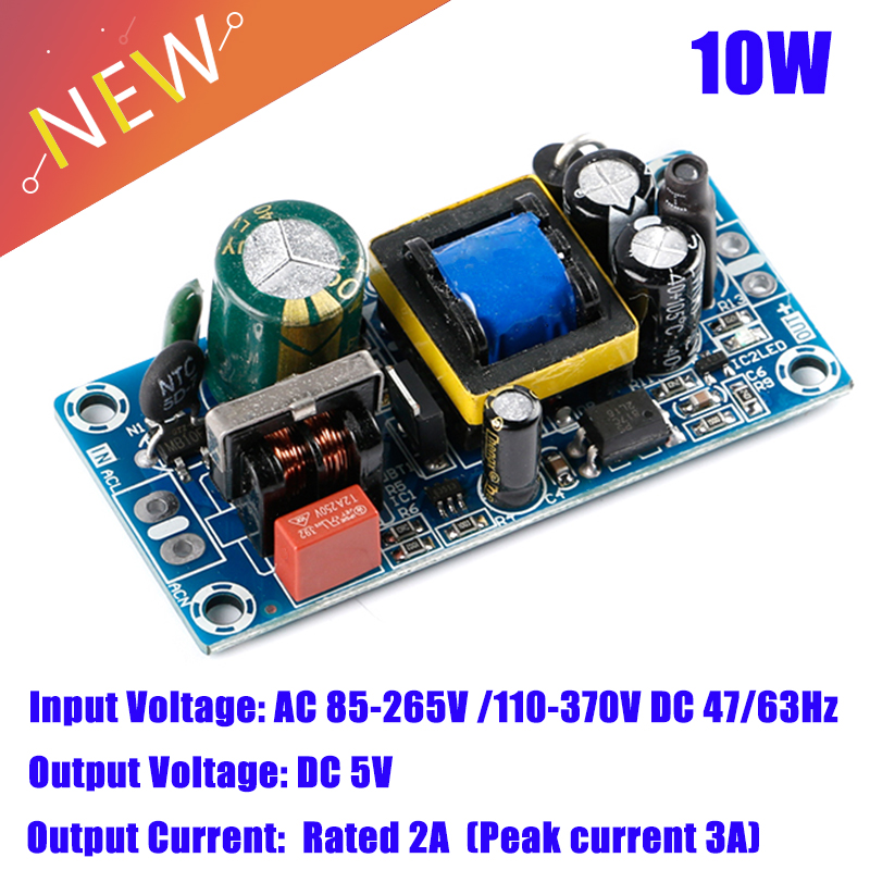 10W AC-DC Converter module AC 110V 220V 120v 230v to 5V 2A 3A DC Switching Power Supply Low ripple power board-0
