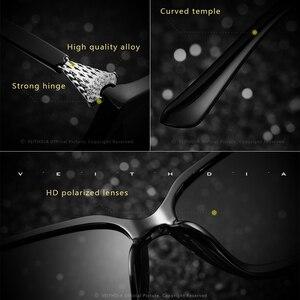 Image 4 - VEITHDIA Retro bayan güneş gözlüğü polarize lüks kristal bayanlar marka tasarımcısı güneş gözlüğü gözlük kadınlar için kadın V3027