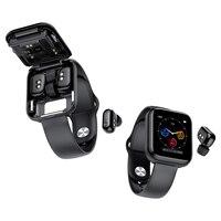 X5 smart watch TWS auricolare Bluetooth 2 in 1, orologio musicale HIFI/monitoraggio della pressione arteriosa della frequenza cardiaca orologio sportivo impermeabile