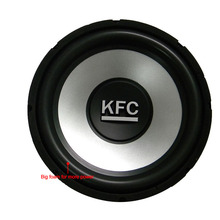 цена на 12 inch 2500W 4 Ohm Powerful  Speaker Steel Music Auto Bass Passive  Boost Subwoofer Speakers