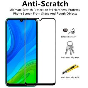 Image 4 - 1 5 Pcs Glass Case p smart 2020 2021 huawei honor 9a 3D Glass Screen Protector honor 9 c huawei p smart 2021 Tempered Glass