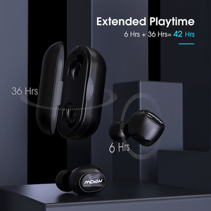 Image 5 - Mpow T5/M5 TWS بلوتوث 5.0 سماعة ثلاثية الأبعاد ستيريو لاسلكي يدوي سماعات AptX سماعات أذن IPX7 مقاوم للماء مع 42 ساعة وقت اللعب