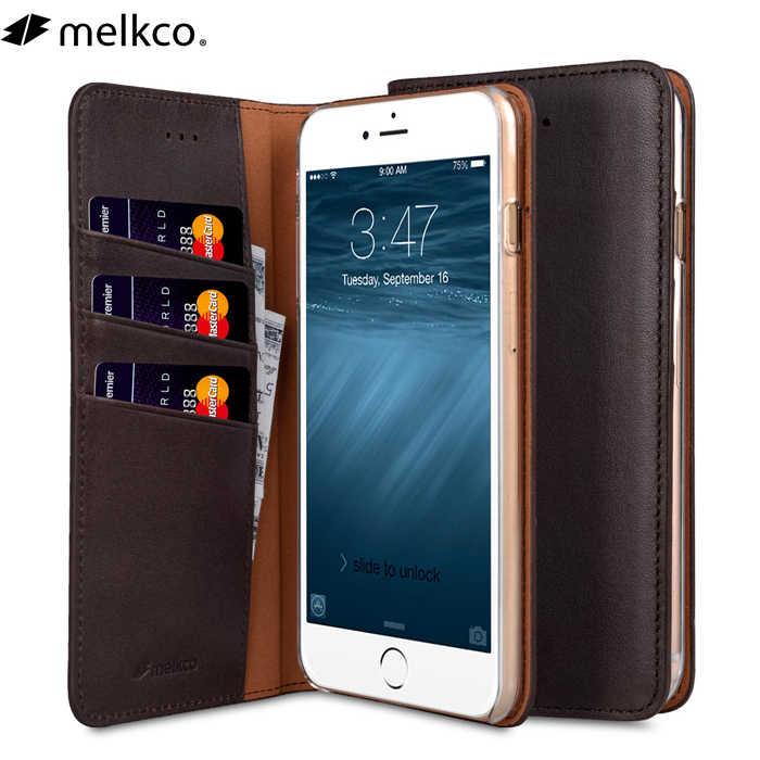 5 couleur Véritable Portefeuille En Cuir étui pour iphone 7 8 Plus Naturel Vachette Téléphone Couverture Bouton Ouvert Carte Poche Pour iPhone8
