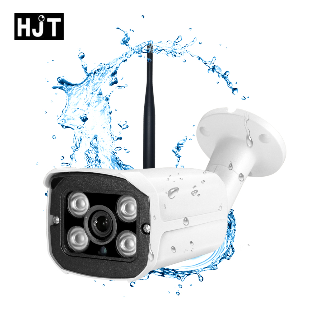 HJT Full-HD 1080P <font><b>Sony</b></font> <font><b>IMX323</b></font> Wireless Wifi <font><b>IP</b></font> Camera SD Card 4IR Night remot view Network Onvif surveillance Security Outdoor image