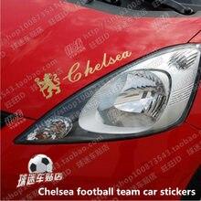 цена на Chelsea football team car stickers rearview mirror car door glass hood Chelsea Club sticker