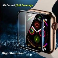 Защитная пленка для apple watch 5 4 44 мм 40 мм iWatch series 3 2 1 42 мм 38 мм 9D HD мягкая пленка аксессуары для apple watch(не стекло
