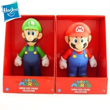 Hasbro SUPER MARIO Mario & Luigi Bros Mario Yoshi Luigi PVC Action Figure Collectible Model Toy(China)