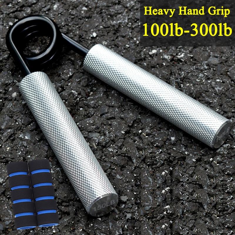 Rehabilitation Trainer Heavy Hand Grip Stainless Steel Sponge Finger Exerciser Fitness Finger Gripper Equipment Duty Sport