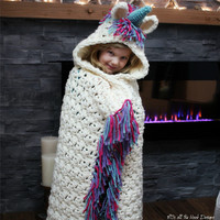 Children Scarf Cartoon Unicorn Scarf Hat Shawl Knited Long Scarves & Wraps Autumn Winter Baby Hats Girls Hat Kids Knitted Caps