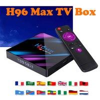 android 4 2 Set Top TV Box 4G DDR3 USB 3.0 Bluetooth 4.0 Android 9.0 9 OS 4K 4096x2160 H96 max Smart Penta-Core Mali-450 RK3318 GPU 2.4G/5G (1)