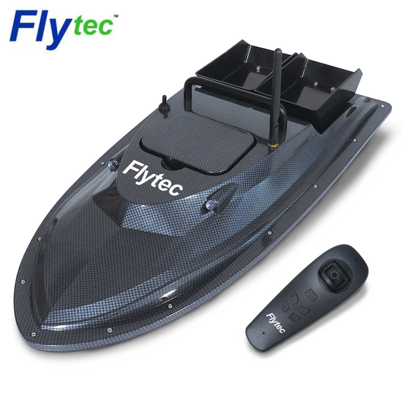 Flytec V007 RC Boats Outdoor Fishing Nesting Boat Fixed Speed Cruise Yaw Correction Double-Motor Hull Anti-Interference Design