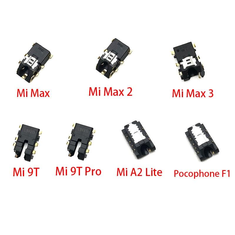 2pcs/lot For Xiaomi Mi 9T Pro A2 Lite Max 2 3 Pocophone F1 Earphone Headphone Audio Jack Flex Cable Replacement