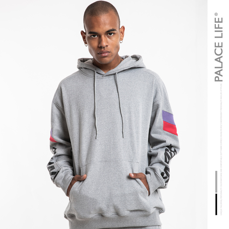 Palace Life  Europe And America Popular Brand Triangular Street Skateboard Men And Women Couples Hooded Pullover MEN'S Sweat