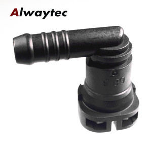 Image 3 - Auto  Car Accessories  9.89mm  SAE10 Fuel Line Quick  Disconnect Connector Fit for  Rubber Hose ID9.5 used in fuel system