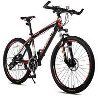 Mountain bike 24 inch/26 inch steel shock absorption 21 speed/24 speed/27 speed Aluminum alloy mountain bikes Variable speed bic