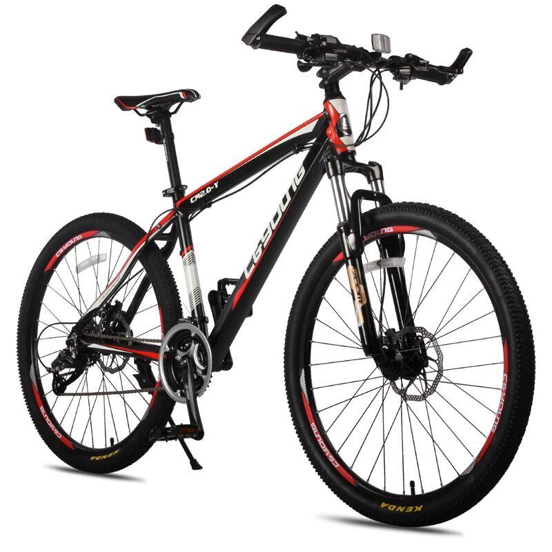 Absorção de Choque Liga de Alumínio Mountain Bike Polegada 26 Aço 21 Velocidade 27 Bikes Variável Bic 24 –