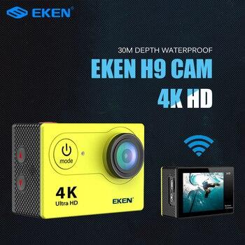 New Arrival!Original Eken H9R / H9 Ultra HD 4K Action Camera 30m waterproof 2.0' Screen 1080p sport Camera go extreme pro cam 1