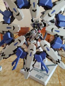 Image 5 - DL model Multi Form Floating shields for Bandai HS 1/100 MB Astraea / Avalanche Astraea Gundam DD060